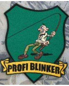 Profi Blinker Aufnäher dunkelgrün Original-Logo