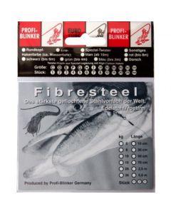 Fibresteel Montage mit Schlaufe und Wahnsinnshaken 70cm 10kg
