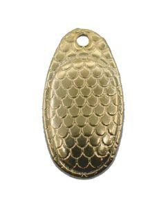 PROLLEX French Style Weitwurf Spinner schuppen gold Größe 4