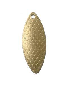 PROLLEX Long Weitwurf Spinner schuppen gold Größe 3