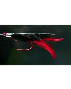 Meerespaternoster Schwarz-Rot Größe 6