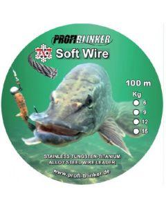 Soft-Wire Stahlvorfächer 100 Meter - 9kg Tragkraft