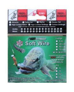 Soft-Wire Stahlvorfächer 5 Meter - 15kg Tragkraft